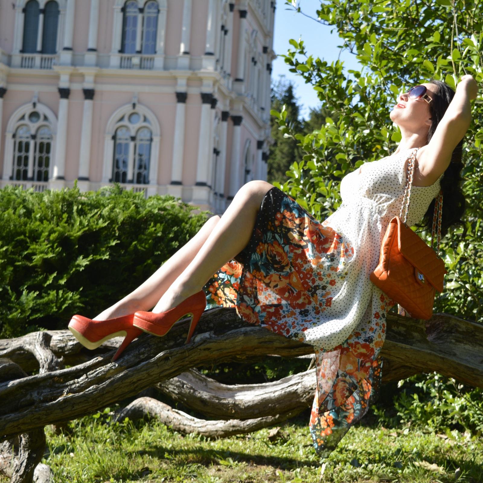 look-do-dia-tendências-primavera-verão-2015-floral-gipsy-pois-laranja-nathália-ferrara-4