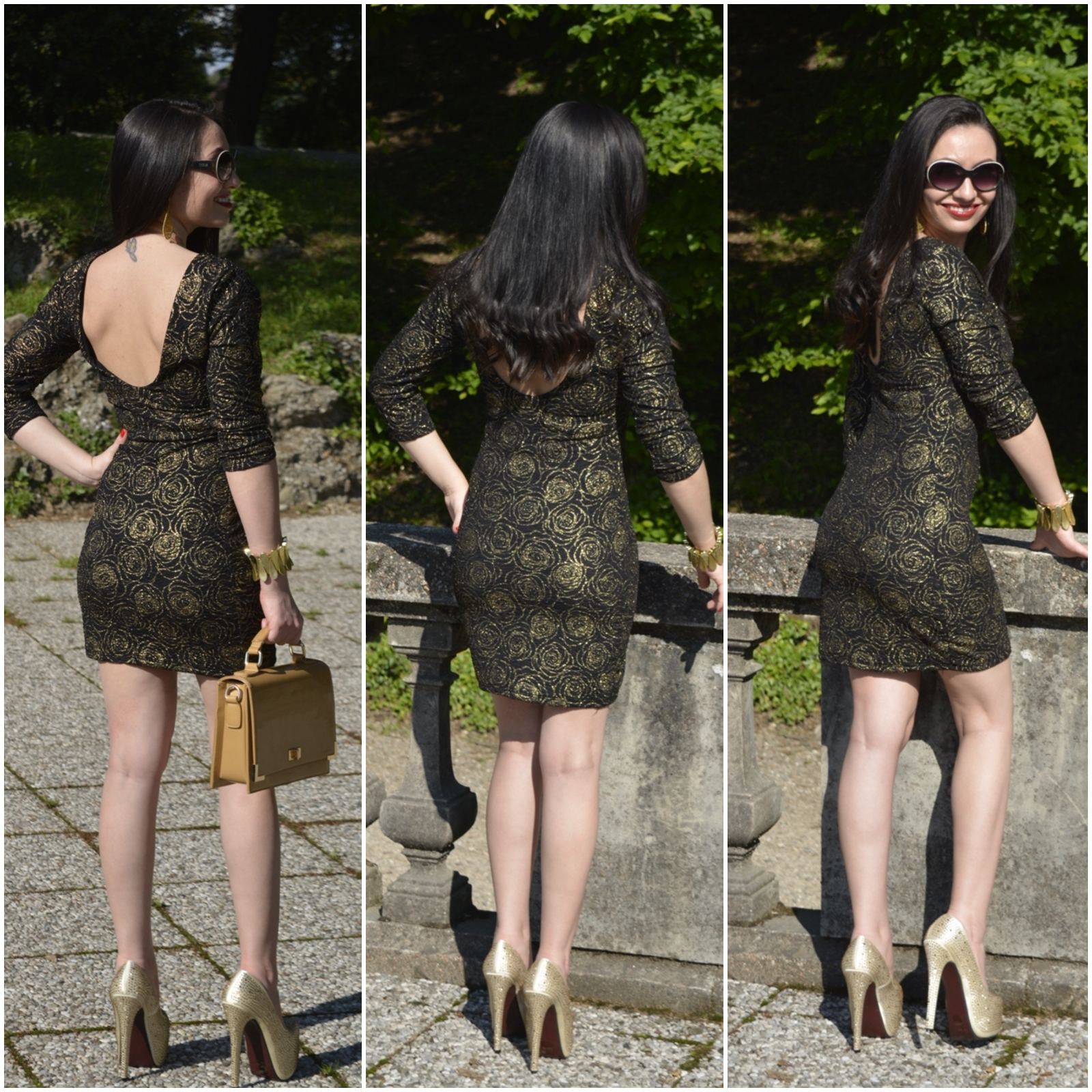 look-do-dia-mini-dress-dourado-&preto-nathália-ferrara-2