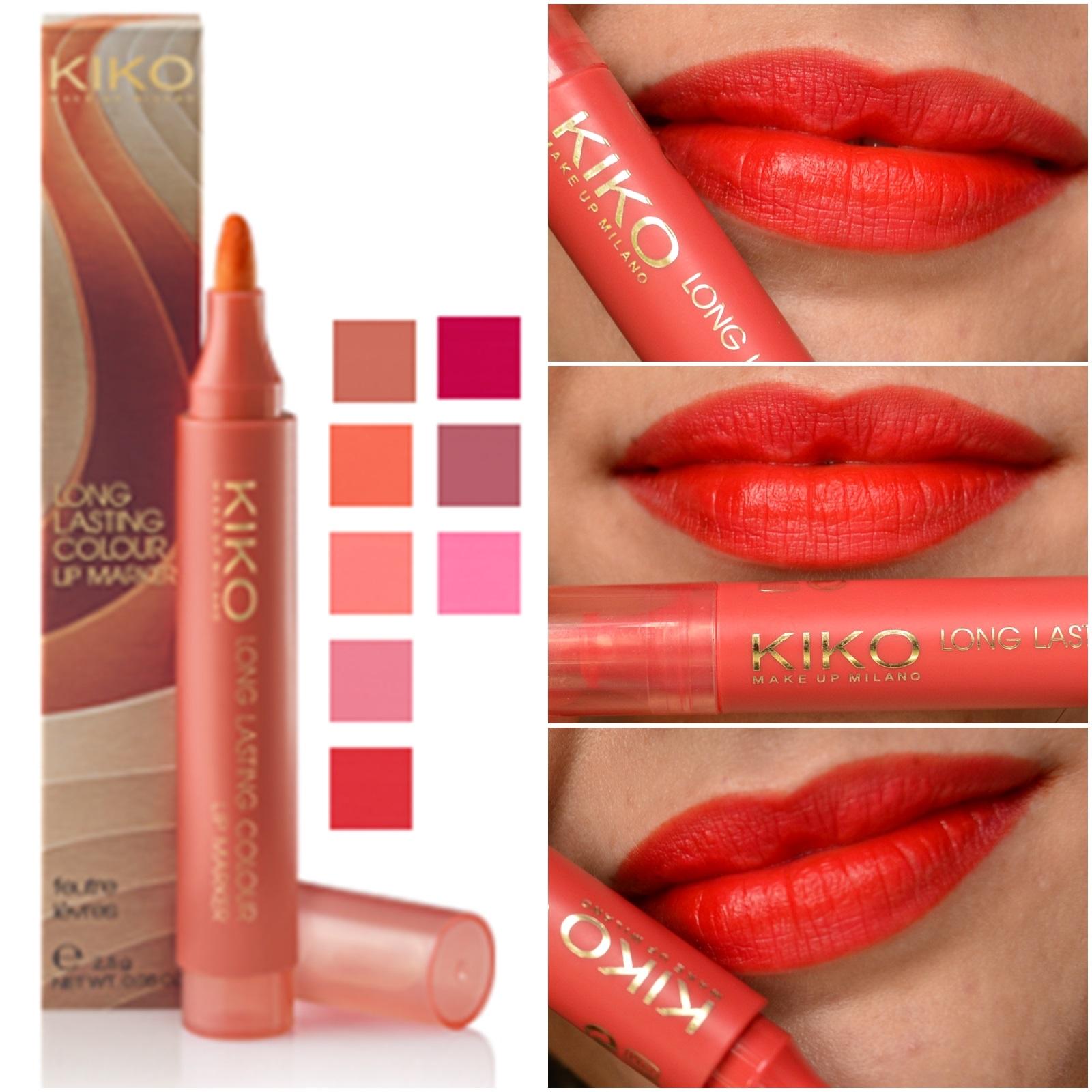 resenha-long-lasting-colour-lip-marker-kiko-cosmetics-102-rosso-geranio-3