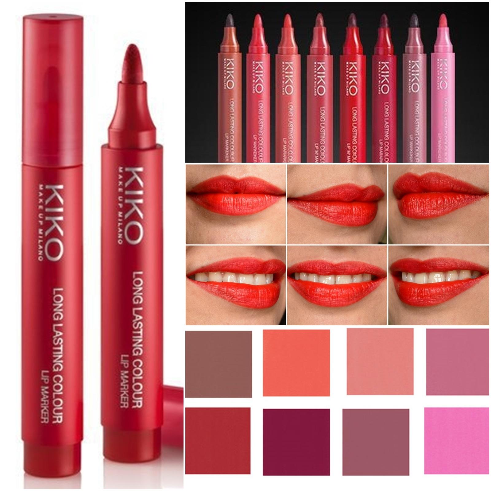 resenha-long-lasting-colour-lip-marker-kiko-cosmetics-102-rosso-geranio-7