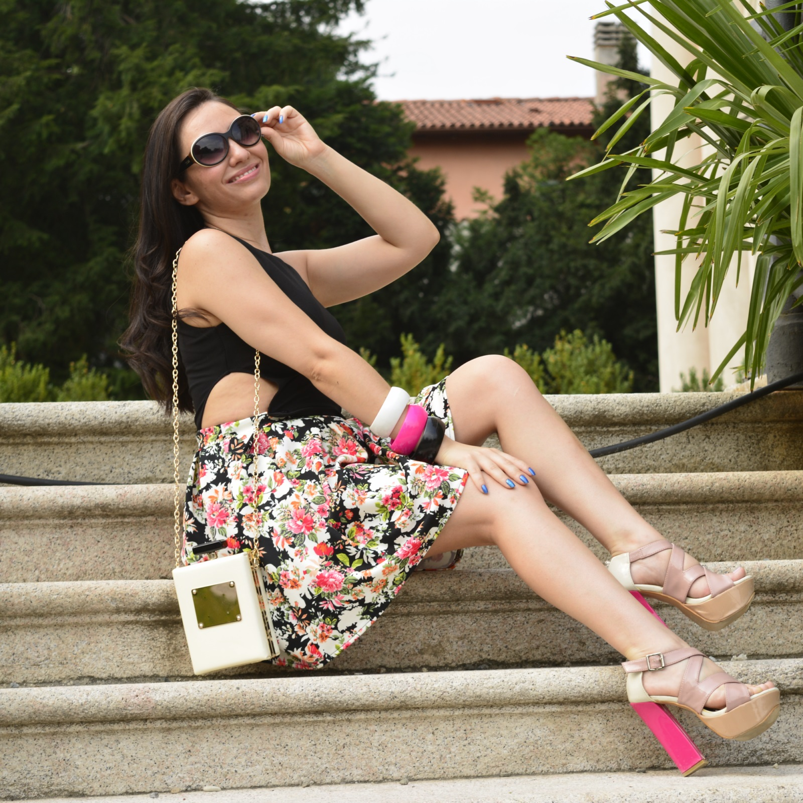 look-do-dia-vestido-cropped-floral-nathália-ferrara-8